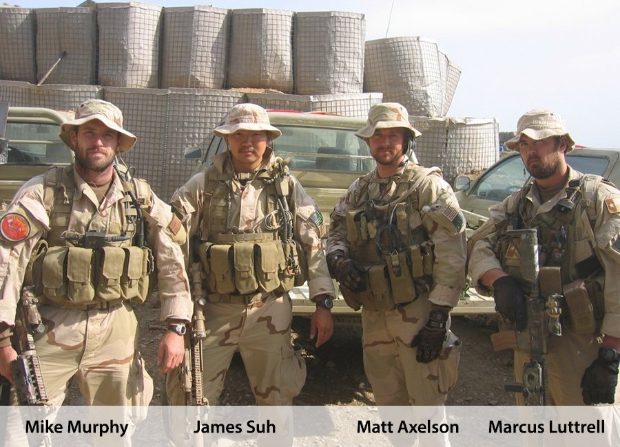 about mike murphy james suh matt axelson marcus luttrell